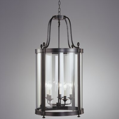 Blake 5-Light Lantern Pendant Finish: Deep Patina Bronze