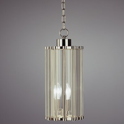 Cole Pendant in Polished Nickel