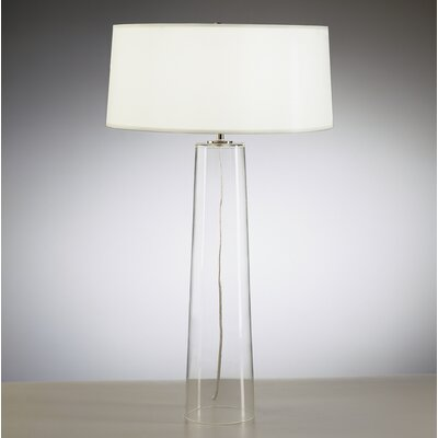 Rico Espinet Olinda Table Lamp with White Organza Fabric Shade