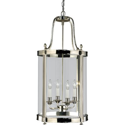 Blake 4-Light Foyer Pendant Finish: Polished Nickel