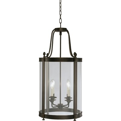 Blake 4-Light Foyer Pendant Finish: Deep Patina Bronze