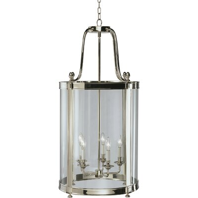 Blake 5-Light Foyer Pendant Finish: Polished Nickel