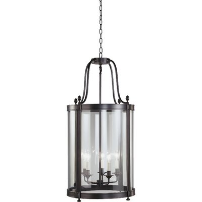 Blake 5-Light Foyer Pendant Finish: Deep Patina Bronze