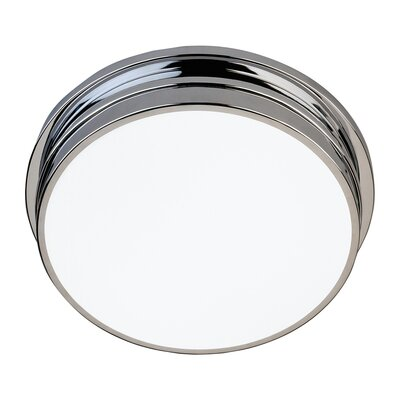 Roderick 2-Light Flush Mount Finish: Polished Chrome