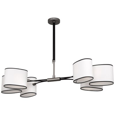 Axis 6-Light Sputnik Chandelier
