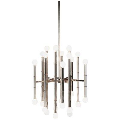 Jonathan Adler Meurice 30-Light Sputnik Chandelier Finish: Polished Nickel