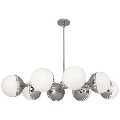 Jonathan Adler Rio 8-Light Sputnik Chandelier Finish: Polished Nickel