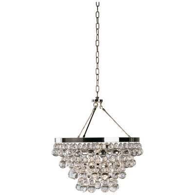 Bling 4-Light Mini Chandelier Finish: Polished Nickel