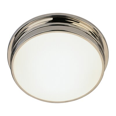 Roderick 2-Light Flush Mount Finish: Polished Nickel