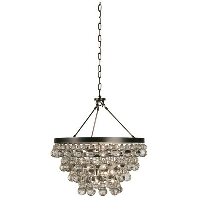 Bling 4-Light Crystal Chandelier Finish: Deep Patina Bronze