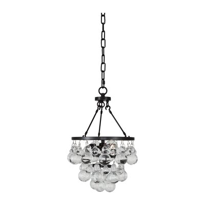 Bling 2-Light Cluster Pendant Finish: Deep Patina Bronze