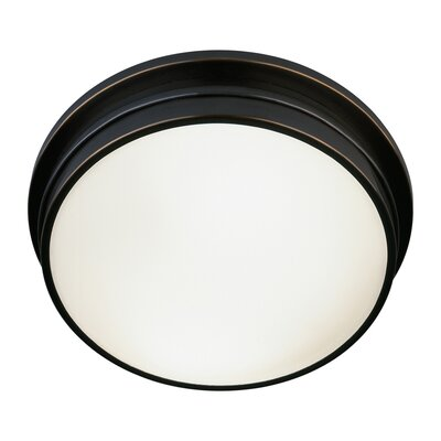 Roderick 2-Light Flush Mount Finish: Deep Patina Bronze