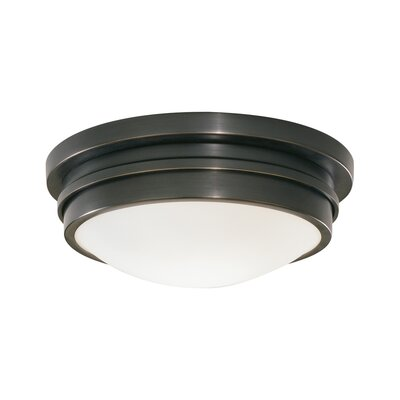 Roderick 1-Light Flush Mount Size: 3.75 H x 9 W x 9 D