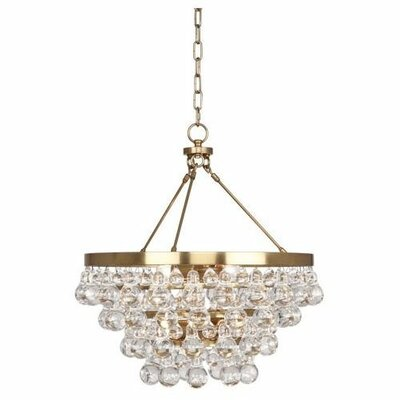 Bling 4-Light Mini Chandelier Finish: Antique Brass