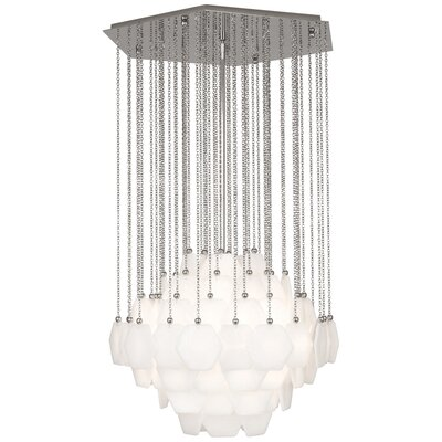 Jonathan Adler Vienna 3-Light Chandelier