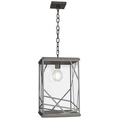 Michael Berman Bond 1-Light Mini Pendant Finish: Blackened Nickel