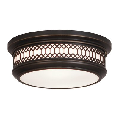 Williamsburg Tucker Flushmount Fixture Finish: Deep Patina Bronze