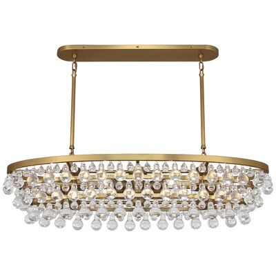 Bling 8-Light Crystal Chandelier
