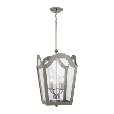 Williamsburg Tayloe Pendant Finish: Polished Nickel