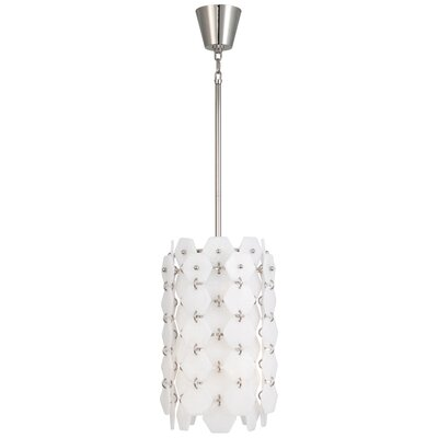 Jonathan Adler Vienna 6-Light Lantern Pendant Finish: Polished Nickel