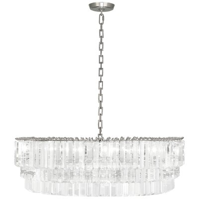 Spectrum 6-Light Crystal Pendant Finish: Polished Nickel