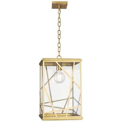 Michael Berman Bond 1-Light Mini Pendant Finish: Modern Brass