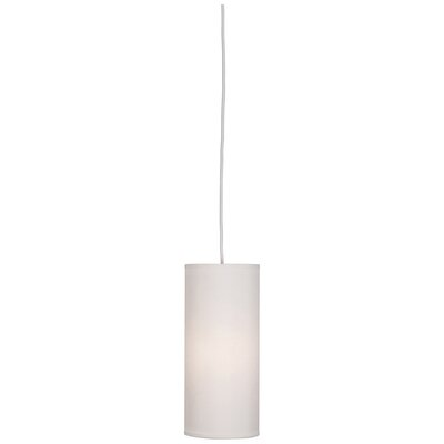Elena 1-Light Mini Pendant Shade Color: Pearl Dupoini