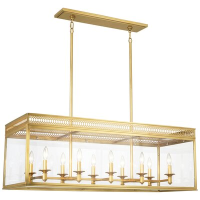 Williamsburg Tucker Pendant Finish: Antique Brass