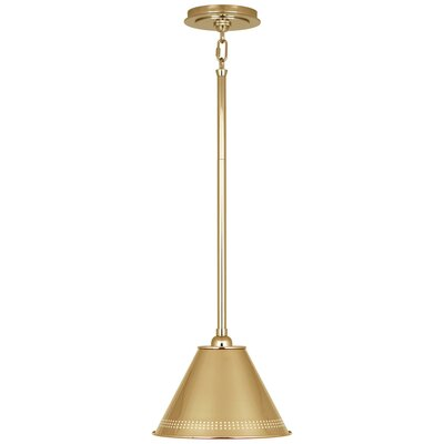 Jonathan Adler St. Germain 1-Light Mini Pendant Finish: Polished Brass