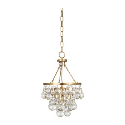 Bling 2-Light Mini Chandelier