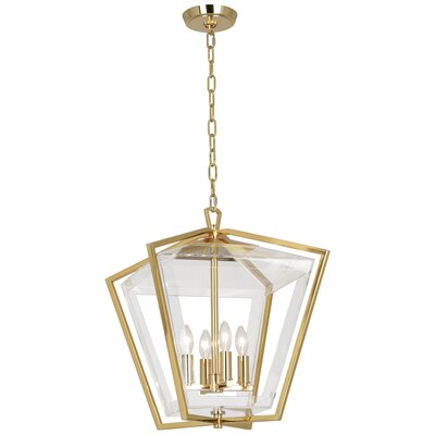 Casper 4-Light Lantern Pendant Finish: Deep Patina Bronze
