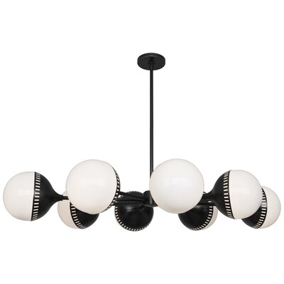 Jonathan Adler Rio 8-Light Sputnik Chandelier Finish: Deep Patina Bronze