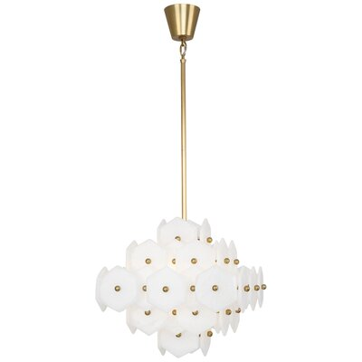 Jonathan Adler Vienna 4-Light Chandelier Finish: Modern Brass