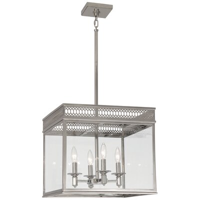 Williamsburg Tucker Pendant Finish: Polished Nickel