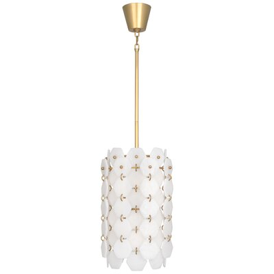 Jonathan Adler Vienna 6-Light Lantern Pendant Finish: Modern Brass