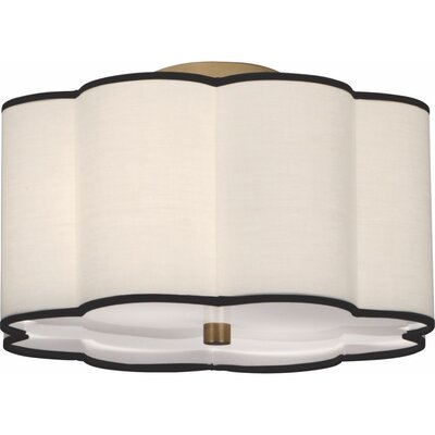 Axis 2-Light Semi Flush Mount