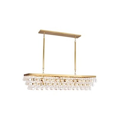 Bling 8-Light Kitchen Island Pendant