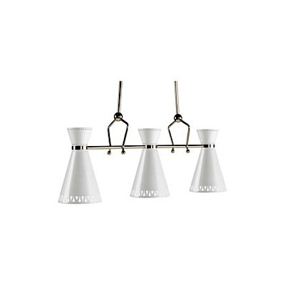 Jonathan Adler Havana 3-Light Kitchen Island Pendant