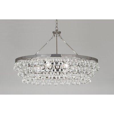 Bling 6-Light Crystal Chandelier Finish: Polished Nickel