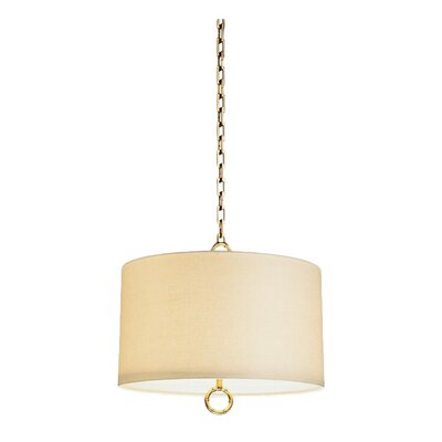 Jonathan Adler Meurice Large Pendant with Off White Shade