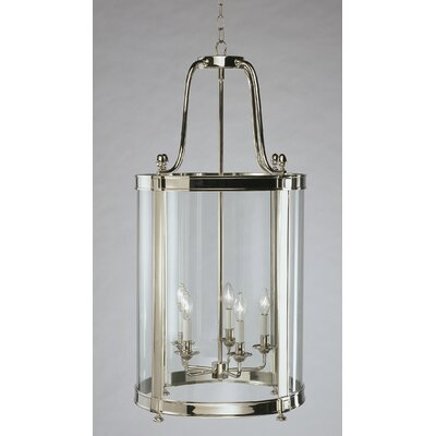 Blake 5-Light Lantern Pendant Finish: Polished Nickel