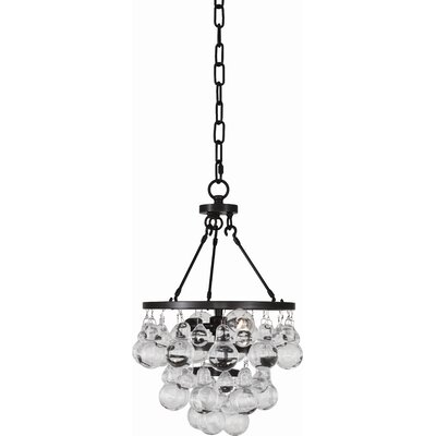 Bling 2-Light Mini Pendant Finish: Deep Patina Bronze