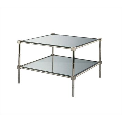 Buy Low Price Robert Abbey Robert Abbey Jonathan Adler Meurice Glass Coffee Table In Polished