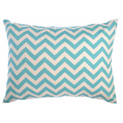 Zig Zag Reversible Sham Size: King, Color: Blue