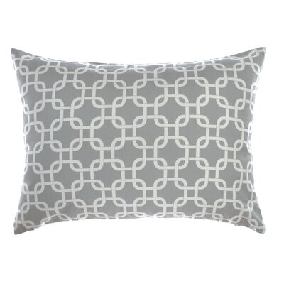Links Reversible Sham Size: King, Color: Silver