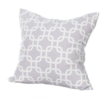 Links Reversible Sham Size: Euro, Color: Purple