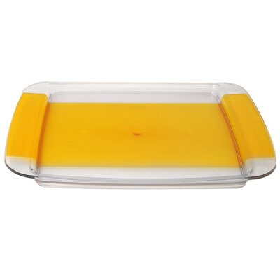 Square Coffee Tray In Yellow