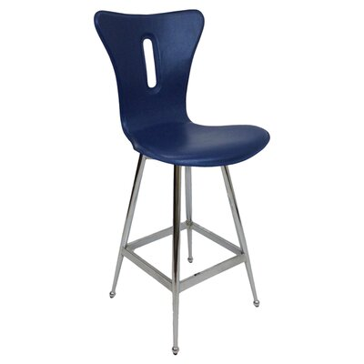 26 Bar Stool (Set of 2) Upholstery: Water Blue