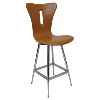 26 Bar Stool (Set of 2) Upholstery: Walnut