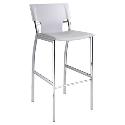 30 Bar Stool (Set of 2) Upholstery: White